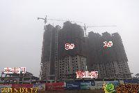 华天公馆1#、5#、商铺项目进度