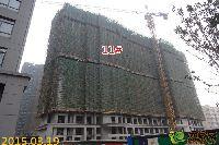 绿都枫景上东11#楼项目进度
