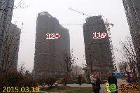 绿都枫景上东11#、12#楼项目进度