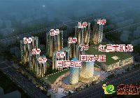 发展红星城市广场鸟瞰图