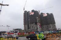 华天公馆项目进度(3月31日摄)