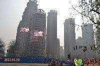 公寓楼和22#楼3月30日工程进度
