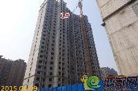 4月9日新科状元城1#楼项目进度