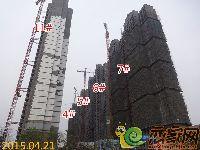 2015.04.21宝龙城市广场4#、5#、6#、7#、11#楼项目进度