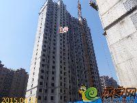 2015.04.23新科状元城1#楼封顶