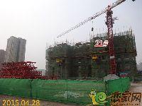 2015.04.30忆通壹世界21#楼项目进度