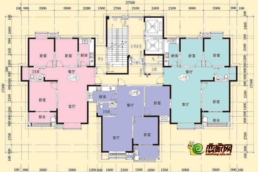 3#楼平面图