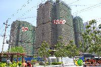 隆基新谊城四期9#、13A#楼建至14层