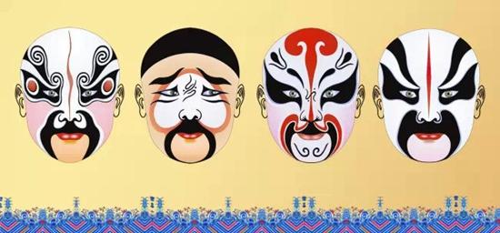 天鹅第一城手绘油纸伞,京剧脸谱活动周日开启