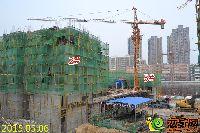 新乡林溪湾2#楼建至四层墙柱模板