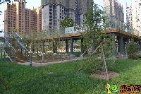 发展红星城市广场小区实景