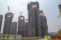 建业壹号城邦二期施工进度