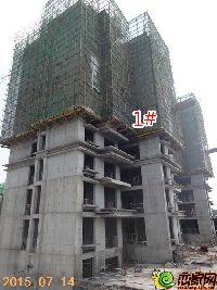 林溪湾1#工程进度(2015.07.14)