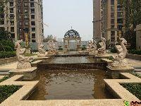 建业壹号城邦喷泉