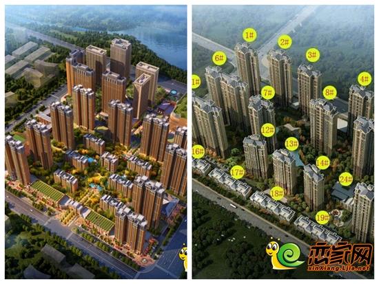 忆通壹世界:忆通壹世界项目目前初步定位为一个集商业mall、精品商业街、高档住宅、酒店公寓、餐饮娱乐、休闲购物、小学、幼儿园等于一体的城市综合体,致力建设成一个高品质的景观式生活人文社区。这不仅将为新乡市场注入一股新鲜的活力,也将带动新乡城市的区域发展、提升新乡市民的生活品质。 星海国际:星海国际项目采用欧式建筑风格,外墙以深咖啡色石材和米黄色仿古漆为主,简单、大方,富有浪漫主义色彩,与时代贵族所追求的新完美主义不谋而合;小区景观设计也具有欧式气息,以一个中心,两条轴线,多个组团为主,设置了大面积绿化,
