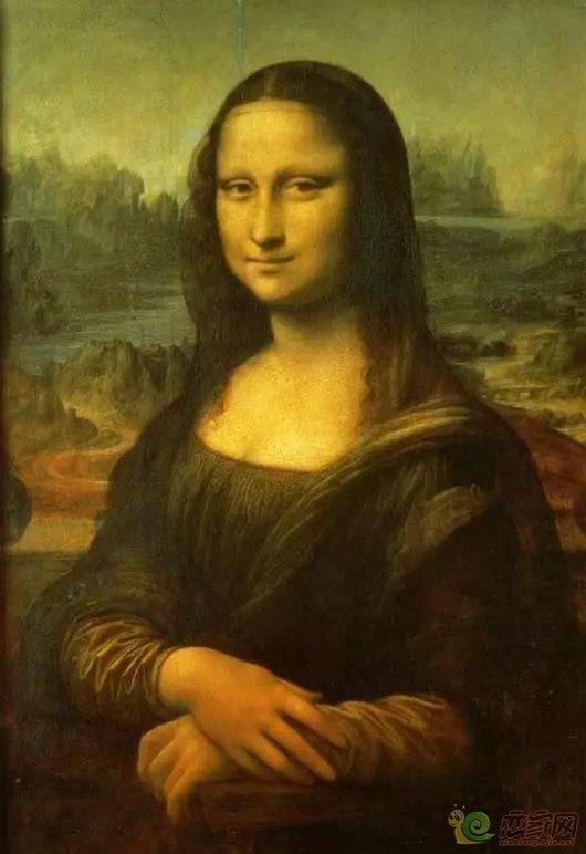 《蒙娜丽莎》赏析图片