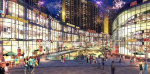 发展红星城市广场效果图