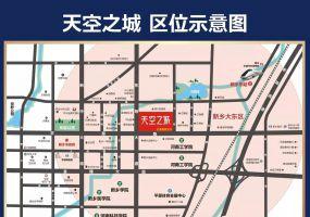 发展红星城市广场区位图