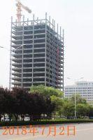 守拙园3#纯钢结构公寓 已盖至20层