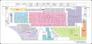 发展红星城市广场平面图