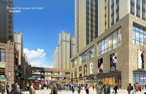 万和城商业透视图