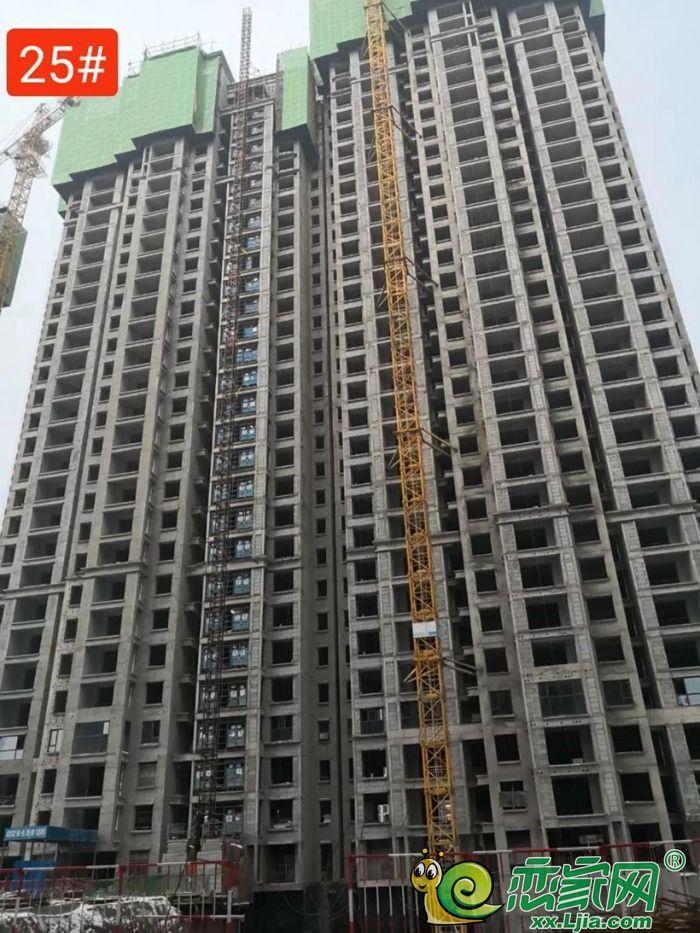 恋家网播报|建业壹号城邦四期工程进度