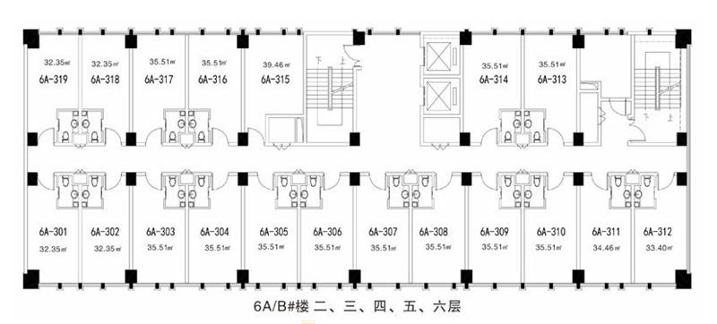 中科阳光运动城6A/B#楼 公寓