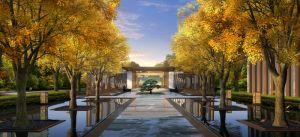 国悦城园林景观效果图