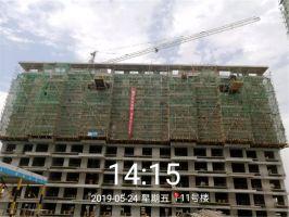 2019.5建业春天里工程进度