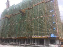 联盟新城四期5#工程进度