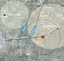 新乡中德产业园区位图