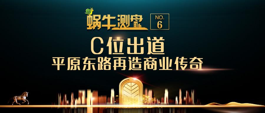 【蜗牛测盘第6期】C位出道,平原东路再造商业传奇