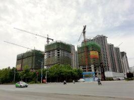 2019.5.28润华UCC工程进度:LOFT12层,公寓14层
