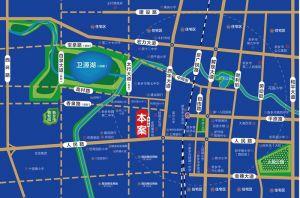 溪悦湾区位图