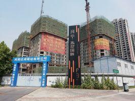 2019.7.3润华UCC工程进度:公寓建至17层,LOFT建至13层