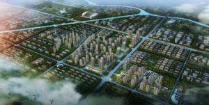 国悦城整体鸟瞰图