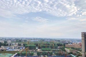 三里城邦项目工地全貌
