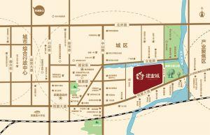 获嘉建业城区位图