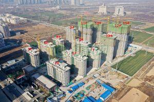 建业联盟新城工程进度2020年1月