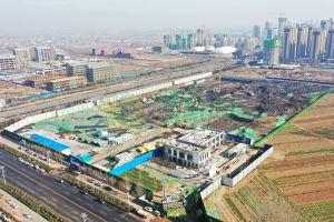 中梁新乐府工程进度2020年1月