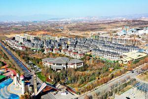 凤凰谷乐活小镇工程进度2020年1月