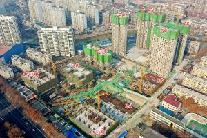 禹洲嘉誉公元工程进度2020年1月