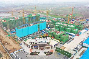 碧桂园城南之光工程进度2020年1月