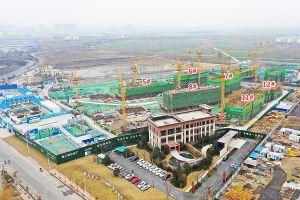 建业花园里工程进度2020年1月