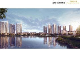 蓝光凤湖长岛国际效果图