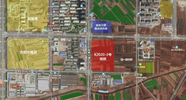 豪横!3.8亿元 东哲置业于新一街中学旁再下一城