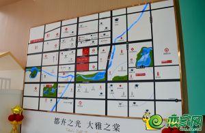 润华海棠公馆区位实景图
