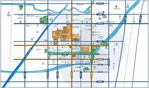 国悦城区位图