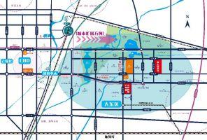陆港跨境产业园区位图