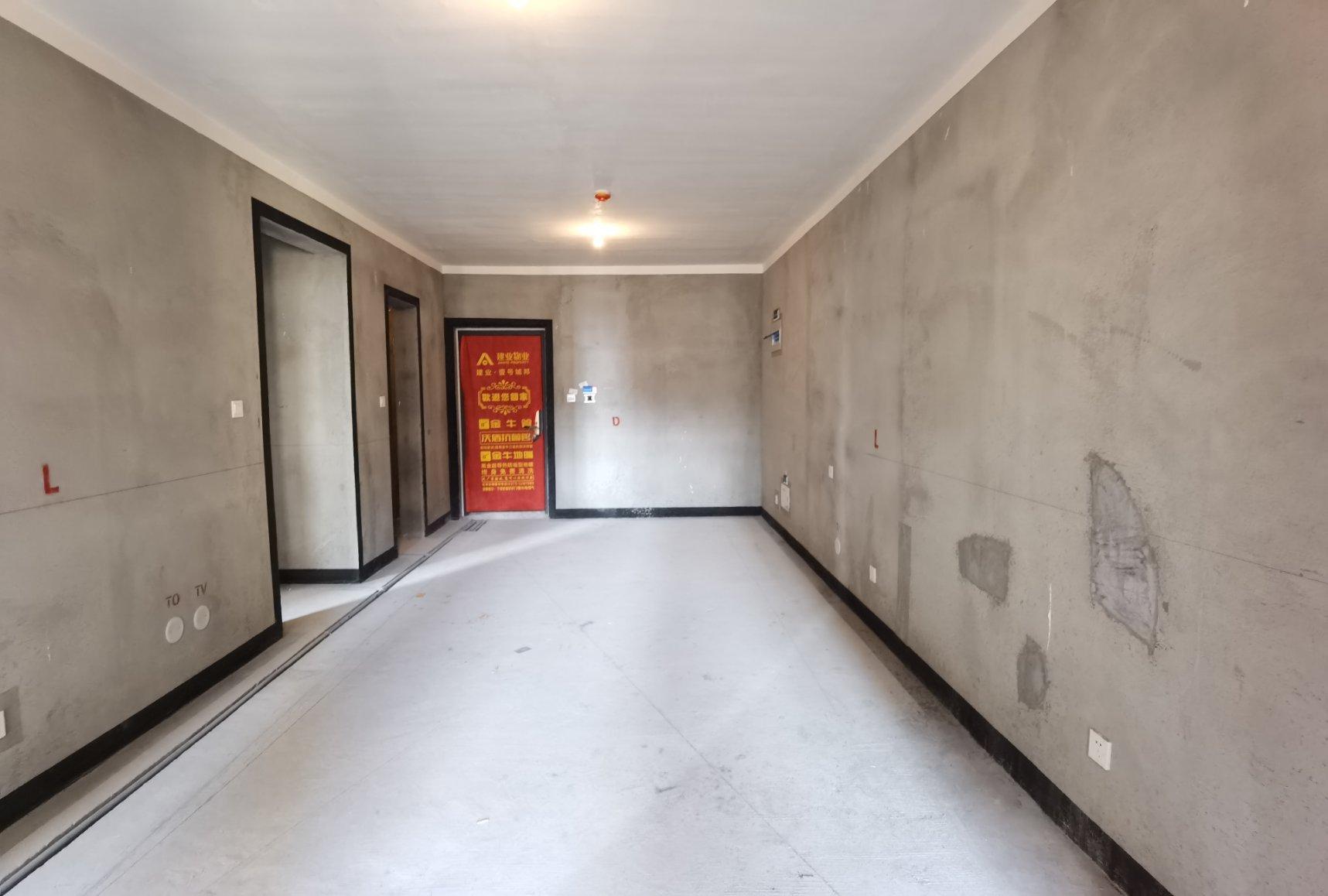 宝龙 壹号城邦 毛坯2室 85平72万 有钥匙